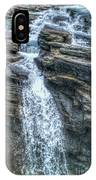 Rocky Mountain Falls IPhone X Case