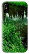 Rocky Mountain Pond IPhone Case