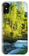 Rocky Mountain River IPhone Case