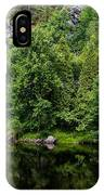 Rocky River Reflection IPhone Case