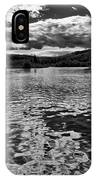 Rocky Shore Of The Moose River IPhone Case