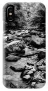 Rocky Smoky Mountain River IPhone Case