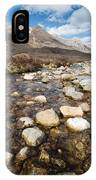 Rocky Stream From Beinn Eighe IPhone Case