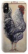 Rocky The Rooster IPhone Case