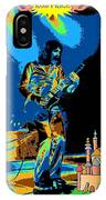 R P And The Castle Made Of Sand IPhone Case