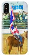 Rodeo Flag IPhone Case