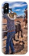 Rodeo Gate Keeper IPhone Case