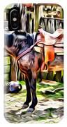 Rodeo Horse Three IPhone Case