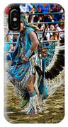 Rodeo Indian Dance IPhone Case