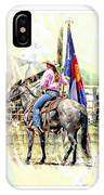 Rodeo Time In Colorado IPhone Case