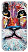 Rodney Abstract Lion IPhone Case