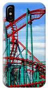 Roller Coaster Painting IPhone Case