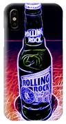 Rolling Rock Dark IPhone Case