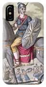Roman Cavalryman Of The State Army IPhone Case
