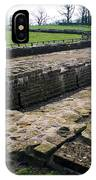Roman Fort Ruins, England IPhone Case