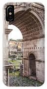 Roman Forum Arch IPhone Case