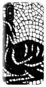 Roman Mosaic Bird IPhone Case