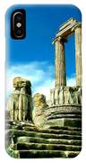 Roman Ruins From Above IPhone Case