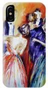 Dance In Romance IPhone Case