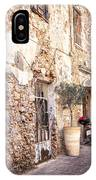 Romantic Chania Street IPhone Case