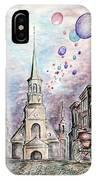 Romantic Montreal Canada - Watercolor Pencil IPhone Case