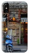 Rome Italy Pizzeria IPhone Case