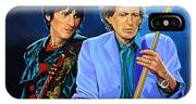 Ron Wood And Keith Richards IPhone Case