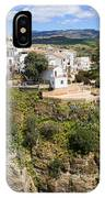 Ronda Houses On A Rock IPhone Case