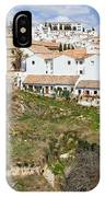 Ronda Old City In Spain IPhone Case