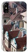 Rooftops Of Prague In Czechia Europe IPhone Case