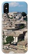 Rooftops Of The Italian City IPhone Case