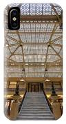 Rookery Building Lobby IPhone Case