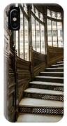 Rookery Building Up The Oriel Staircase IPhone Case