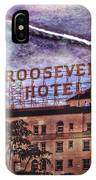 Roosevelt Retro IPhone Case