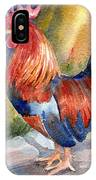 Rooster At Sunrise IPhone Case
