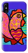 Rooster Dance IPhone Case by Steven Scott