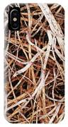 Roots Of A Japanese Red Cedar IPhone Case