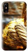 #rope IPhone Case