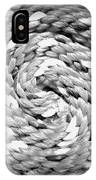 Rope Black And White IPhone Case