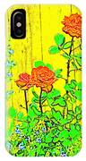 Rose 9 IPhone Case
