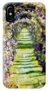 Rose Arch In Summer Sunshine IPhone Case