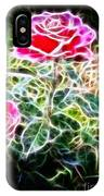 Rose Expressive Brushstrokes IPhone Case