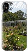 Rose Garden At The Huntington Library IPhone Case