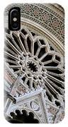 Rose Window Duomo Florence IPhone Case