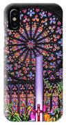 Rose Window Of St Vincent IPhone Case