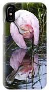 Roseate Spoonbill No.3 IPhone Case