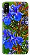 Rosemary In Park Sierra Near Coarsegold-california  IPhone Case