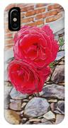Roses Against The Wall IPhone Case