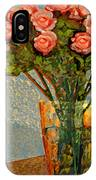Roses And A Chinese Bowl IPhone Case