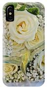 Roses And Baby Breath IPhone Case
